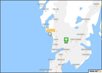 Juhu India Map Nona Net