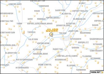 map of Jūjar