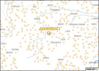 map of Jukanovići