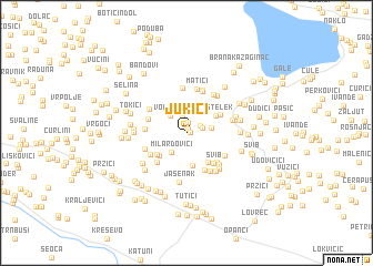 map of Jukići