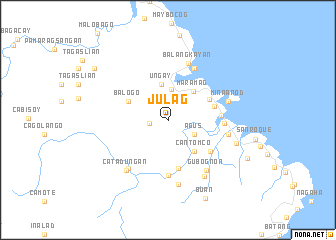 map of Julag
