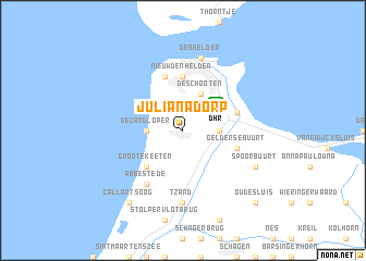 holland julianadorp karte Julianadorp (Netherlands) map   nona.net