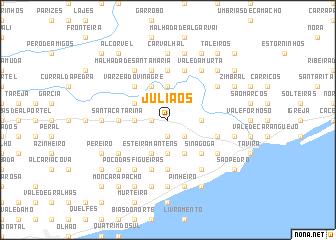 map of Juliãos