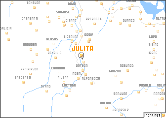 map of Julita