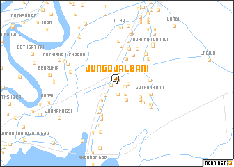 map of Jungo Jalbāni