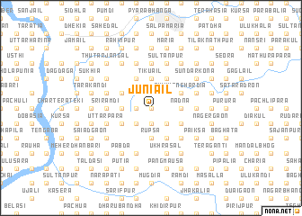 map of Juniāil