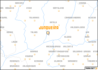 map of Junqueira
