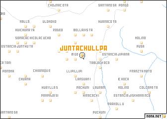 map of Junta Chullpa