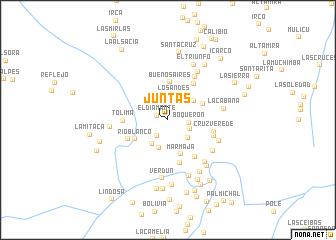 map of Juntas