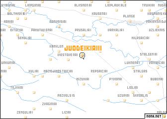 map of Juodeikiai II