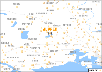 map of Jupperi