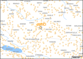 map of Jurići