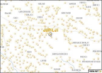 map of Jurilji