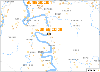 map of Jurisdiccion
