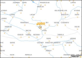 map of Jurki