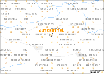 map of Jützbüttel