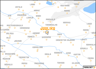 map of Juuliku