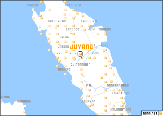 map of Juyang