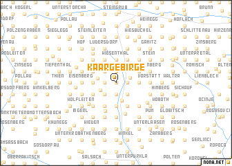 map of Kaargebirge