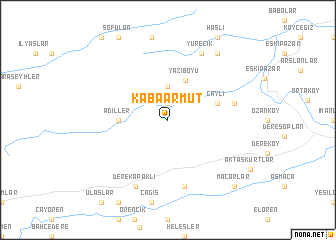 map of Kabaarmut
