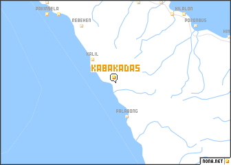 map of Kabakadas