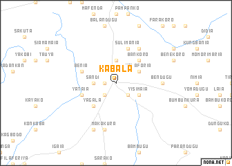 Kabala Sierra Leone map nonanet