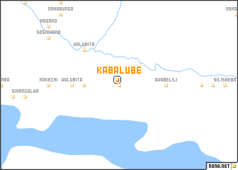 map of Kabalube