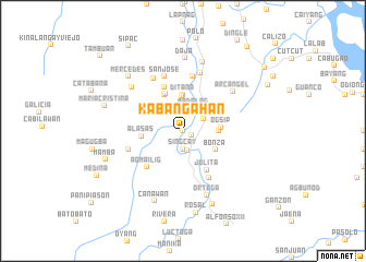 map of Kabangahan