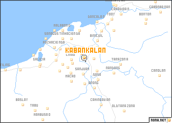 map of Kabankalan