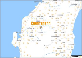 map of Kabatbatan