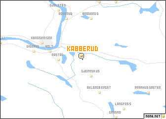 map of Kabberud