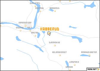 map of Kabberud