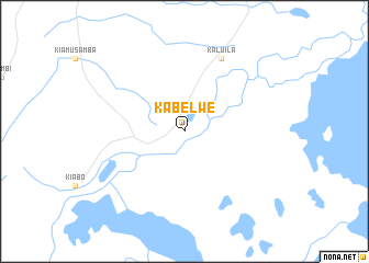 map of Kabelwe