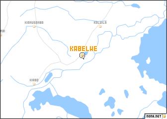 map of Kabelwe
