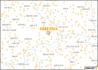 map of Kabernik