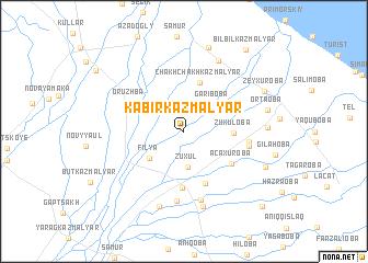 map of Kabirkazmalyar
