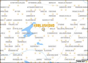 map of Kabłuskowo