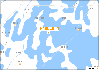 map of Kabulawa