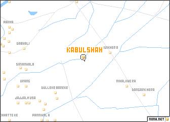 map of Kābul Shāh