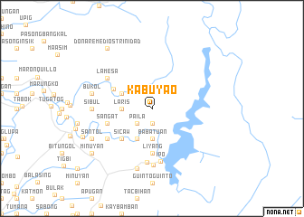 map of Kabuyao