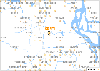map of Kabyi