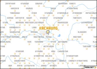 map of Kachaung