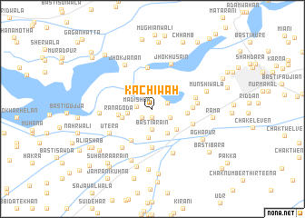 map of Kachiwāh