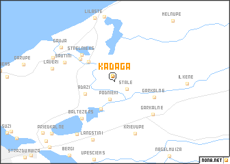 map of Kadaga