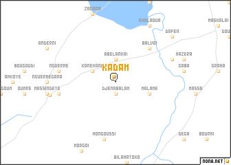 map of Kadam