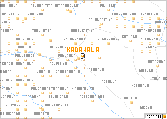 map of Kadawala