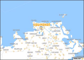 map of Kadimahan