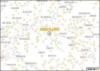 map of Kadinjani