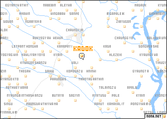 map of Kadok
