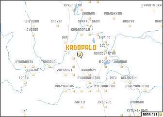 map of Kadopalo